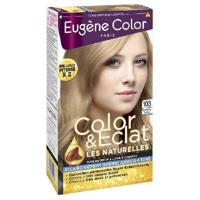 EUGENE COLOR Crème Colorante permanente 103 Blond très très clair Doré