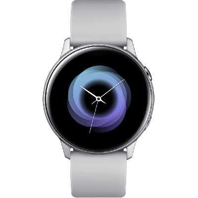 Samsung Galaxy Watch Active - 40 mm - Gris Etain