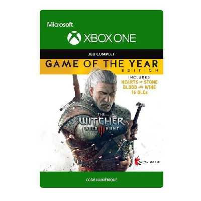 The Witcher 3 - Wild Hunt Edition Game Of The Year Jeu Xbox One à télécharger
