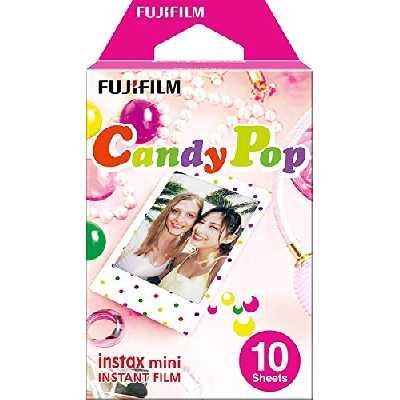 Fujifilm 70100139614 Instax Mini Monopack Candy Pop (10v)