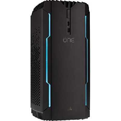 Corsair ONE PRO, Processeur Intel Core i7-7700K à Refroidissement Liquide, Carte Graphique GTX 1080 à Refroidissement Liquide, SSD M.2 480 Go, Disque dur 2 To, DDR4 16 Go - Version EU