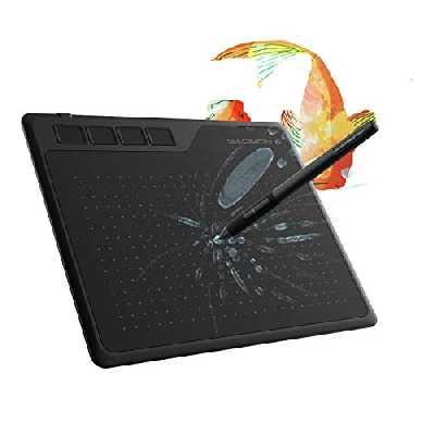 GAOMON S620 Tablette Graphique Portable 6,5 x 4 Pouces avec Stylet sans Pile à 8192 Niveaux et 4 Raccourcis pour OSU! Le Dessin et Signature Electronique