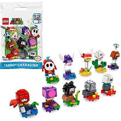 LEGO Super Mario 71386 Pack Surprise de Personnage, Série 2, Jeu Intéractif à Collectionner pour Enfants, (modèle choisi au hasard)
