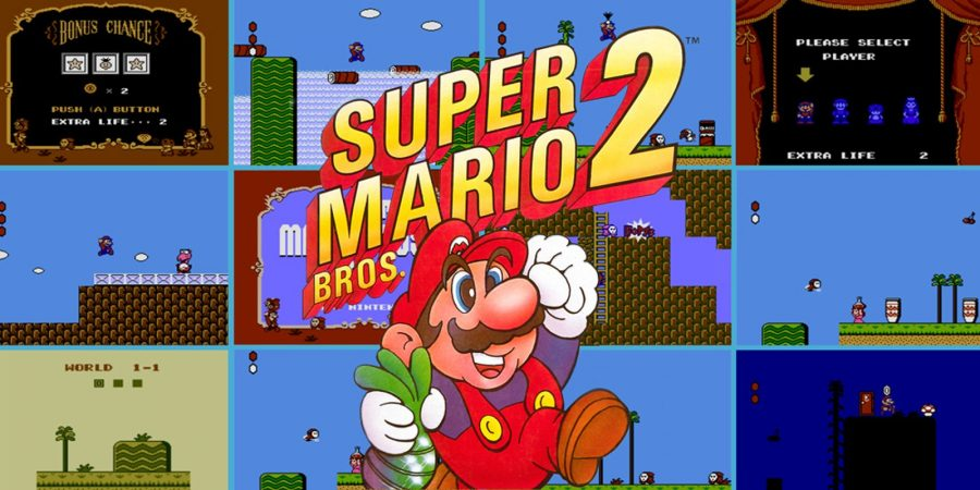 Test Super Mario Bros 2