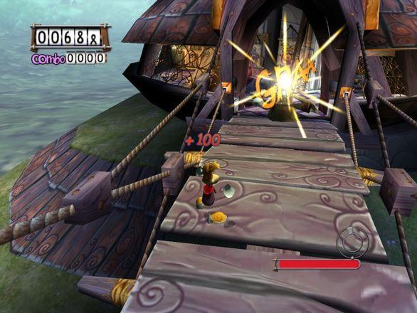 Rayman 3 dans le jeu
